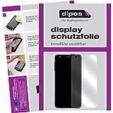 dipos I 6X Schutzfolie klar kompatibel mit Fossil Q Wander Folie Displayschutzfolie