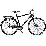 28 Crossrad Zoll Fuji Absolute City 1.3 Urban Herrenfahrrad, Rahmengrösse:49 cm, Farbe:Satin Black