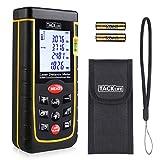 Laser Entfernungsmesser Tacklife A-LDM01 40 Advanced Distanzmessgerät (Messbreich: 0,05~50m/±2mm) mit M/In/Ft, Größeres LCD Display, bis zu 11 Messmodi,...