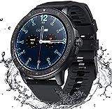 SANAG Smartwatch Herren, Smartwatch Wasserdicht IP67 HD-Touchscreen, Sport Smartwatch Musiksteuerung, Fernfotografie Schlaferkennung Kalorien, Schrittzahl für...