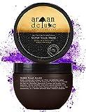 Argan Deluxe Silber-Haarmaske in Friseur-Qualität 250 ml - ergänzende Kur zu Silber-Shampoo für extra Strahlkraft