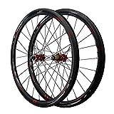 LHHL 700C-Kohlefaser Straße Fahrradradsatz Leichtmetallfelge QR Scheibenbremse Für 7/8/9/10/11/12 Geschwindigkeitskassette 24 Speichenrad Fahrrad Cyclocross