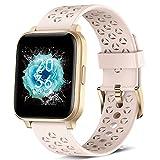 ASWEE Smartwatch für Damen und Herren, Fitness-Tracker mit Blutsauerstoff, Herzfrequenz und Schlafmonitor, Schrittzähler, Uhr mit 5 ATM wasserdicht,...