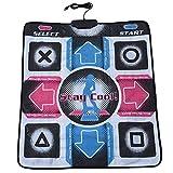 Bewinner Dance Pad für Kinder Erwachsene Rutschfest Durable Verschleißfest Dancing Step Pad Musikspielmatte Tänzerdecke mit USB-Anschluss für PC/Windows...