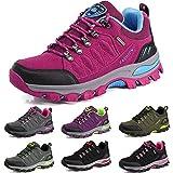 BOLOG Outdoor-Halbschuhe, Wanderschuhe, rutschfeste Kletterschuhe, leicht, atmungsaktiv, Trekkingschuhe für Damen und Herren, Pink - rose - Größe: 40.5 EU