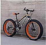 Aoyo Mountainbike, 26 Zoll 7/21/24/27 Speed Bike, Männer Frauen Studenten Variable Speed Bike, Fat Tire Herren Mountainbike, Fully...