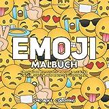 Emoji Malbuch: Emoji Buch mit Collagen mit Lustige Malvorlagen für Kinder, Jungen, Mädchen und Jugendlich