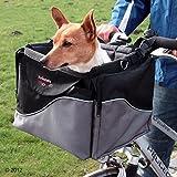 Fahrradkorb für Hunde, Befestigung am Lenker, mit Schultergurt, robust und stabil