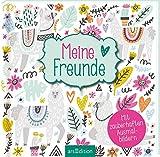 Meine Freunde (Lamas): Mit zauberhaften Ausmalbildern   Freundebuch mit Trendmotiven zum Ausmalen, für Kinder ab 8 Jahren