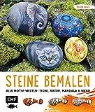 Steine bemalen: Alle Motivwelten: Tiere, Natur, Mandala und mehr