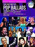 The Very Best Of ... Pop Ballads (Buch & CD): Songbook, CD für Klavier