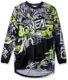 O'NEAL   Motocross-Shirt Langarm   Kinder   MX MTB Mountainbike   Passform für Maximale Bewegungsfreiheit, Eingenähter Ellbogenschutz   Element Youth Jersey...